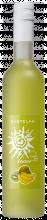 Este licor tem um casamento subtil entre o sabor a banana e o sabor a kiwi.